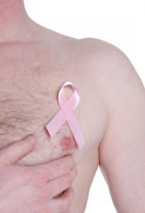 Auch Männer können an Brustkrebs erkranken.
